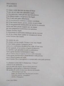 PER ENRICO da Don Mirko